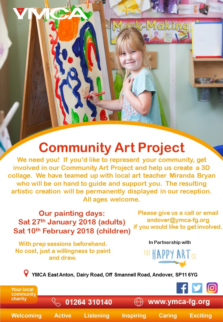 Community Art Project - Adult Painting Day