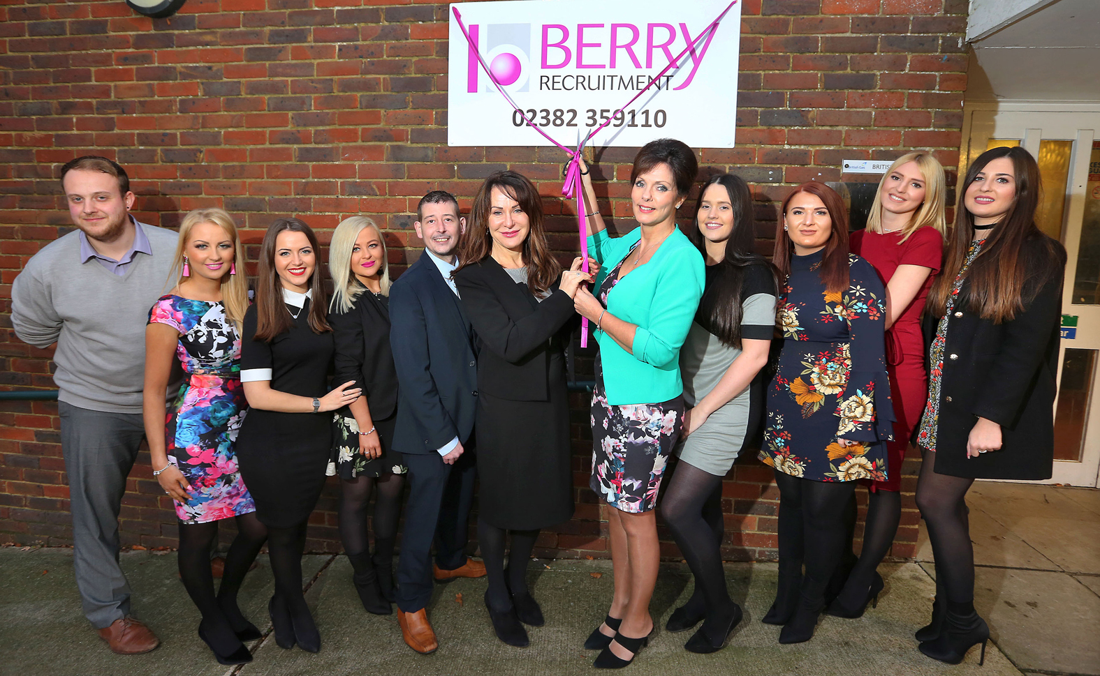 Berry Recruitment celebrates the opening of its new Southampton branch.