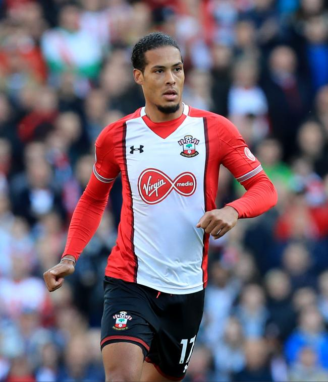 Liverpool Star Virgil Van Dijk Lifts The Lid On Why He Joined Southampton Daily Echo