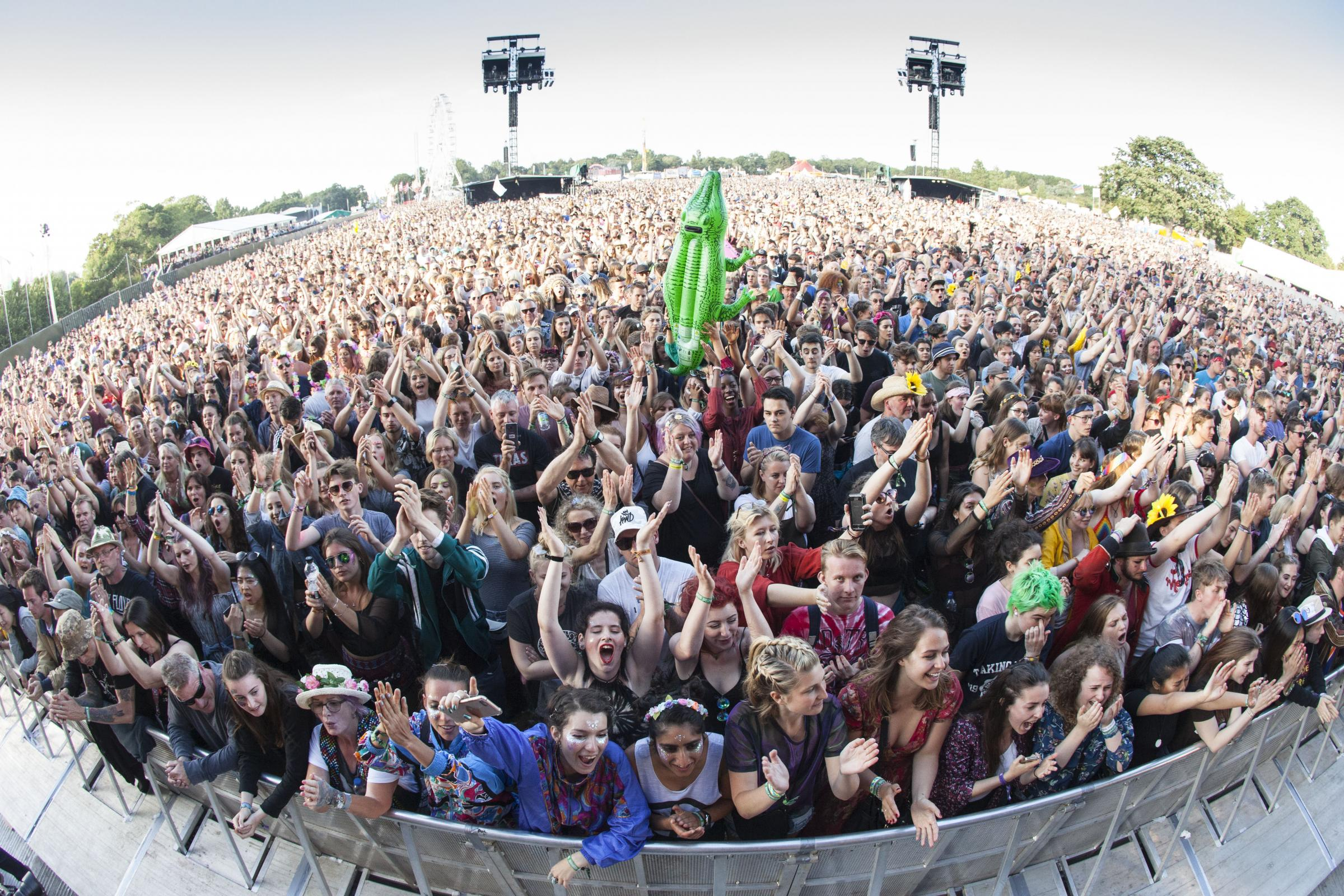 Photo Stuart Martin - IOW Isle of Wight Festival 2017 - Crowd.