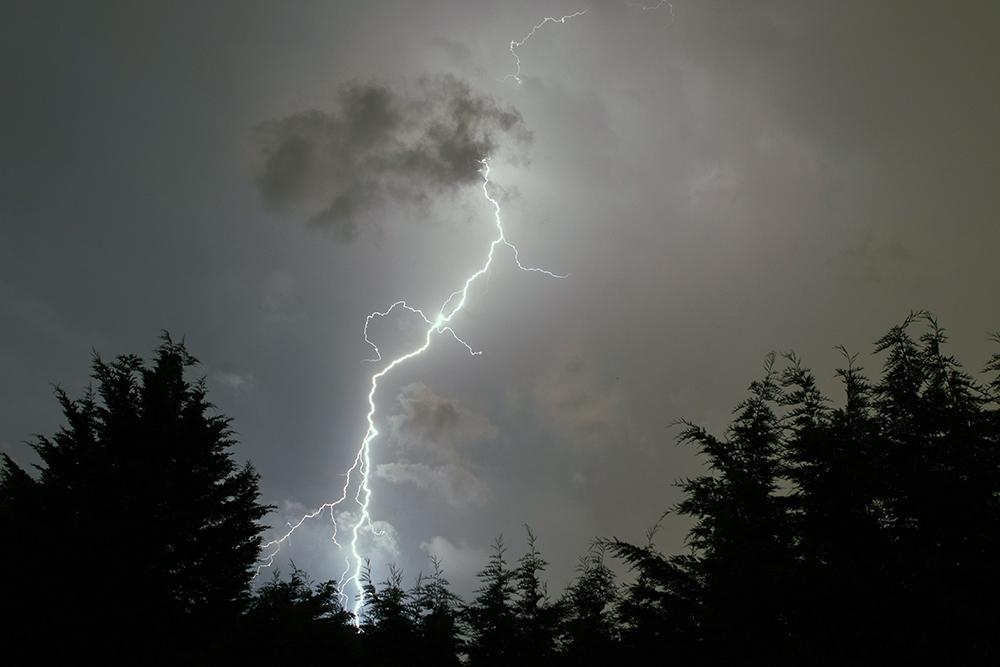Lightning forecast in Southampton this weekend