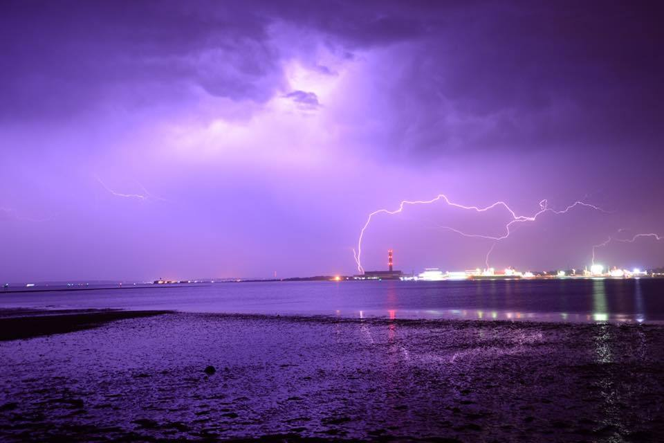 Harry Emery perfectly captured this lightning strike and shared it with Camera Club in July