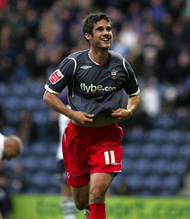 Surman in his Saints days