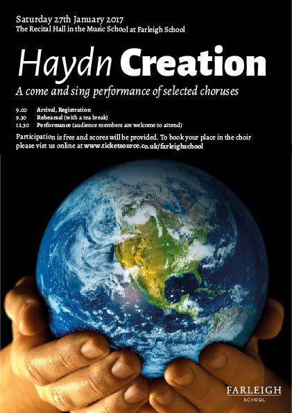 'Come and Sing' Choruses from Haydn's Creation