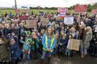 Stand up for Warsash and the Western Wards Protests - Hundreds of people turnout against FBC's plans for hundreds of new homes in Locks Heath, Sarisbury and Warsash.