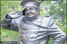 The Benny Hill Statue