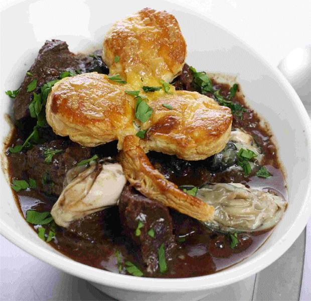 Irish Beef and Oyster Stew
