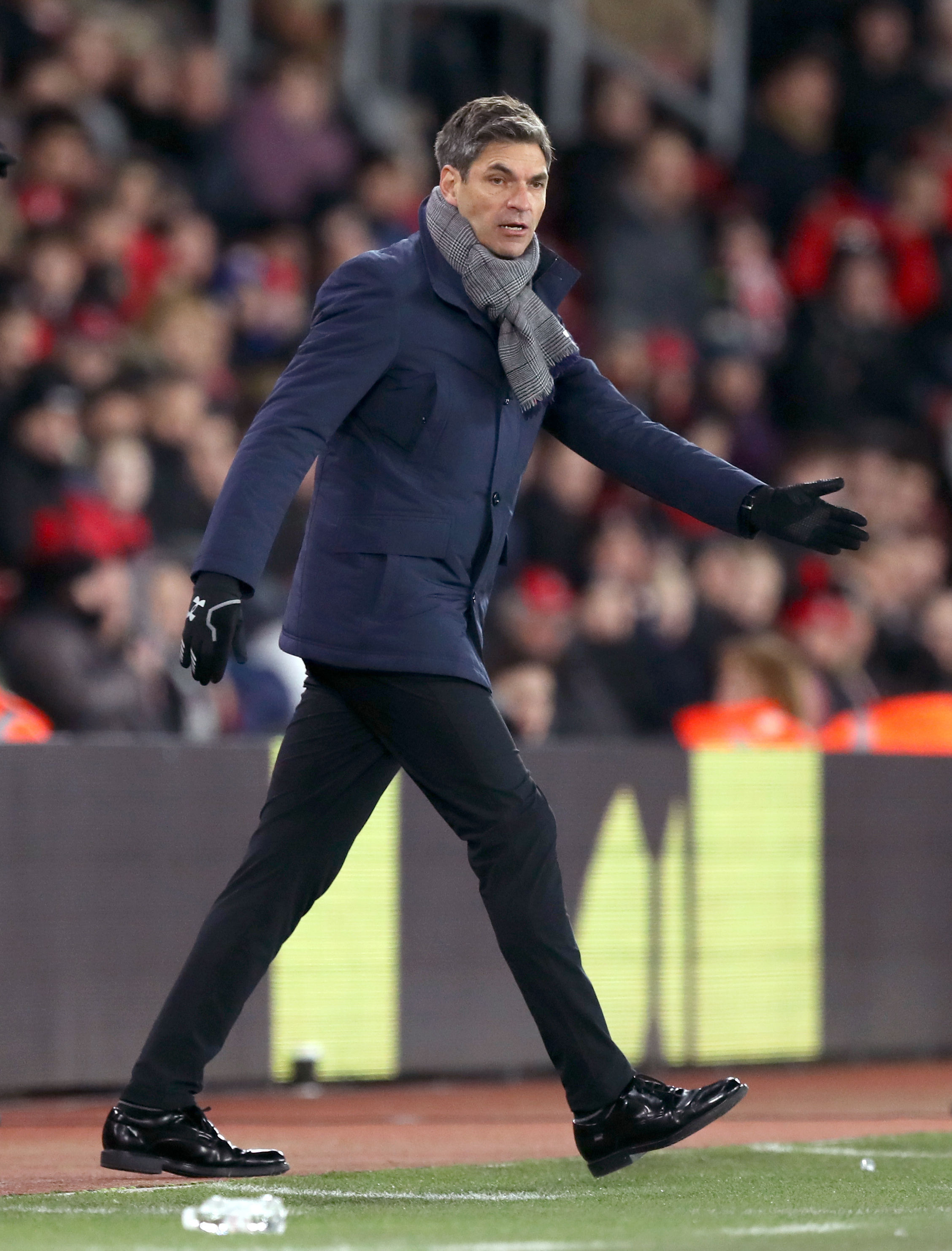 Mauricio Pellegrino at St Mary's
