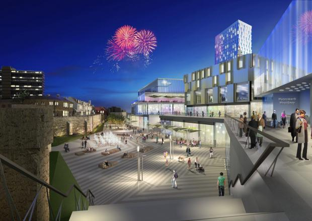 Original vision for Watermark WestQuay in Southampton