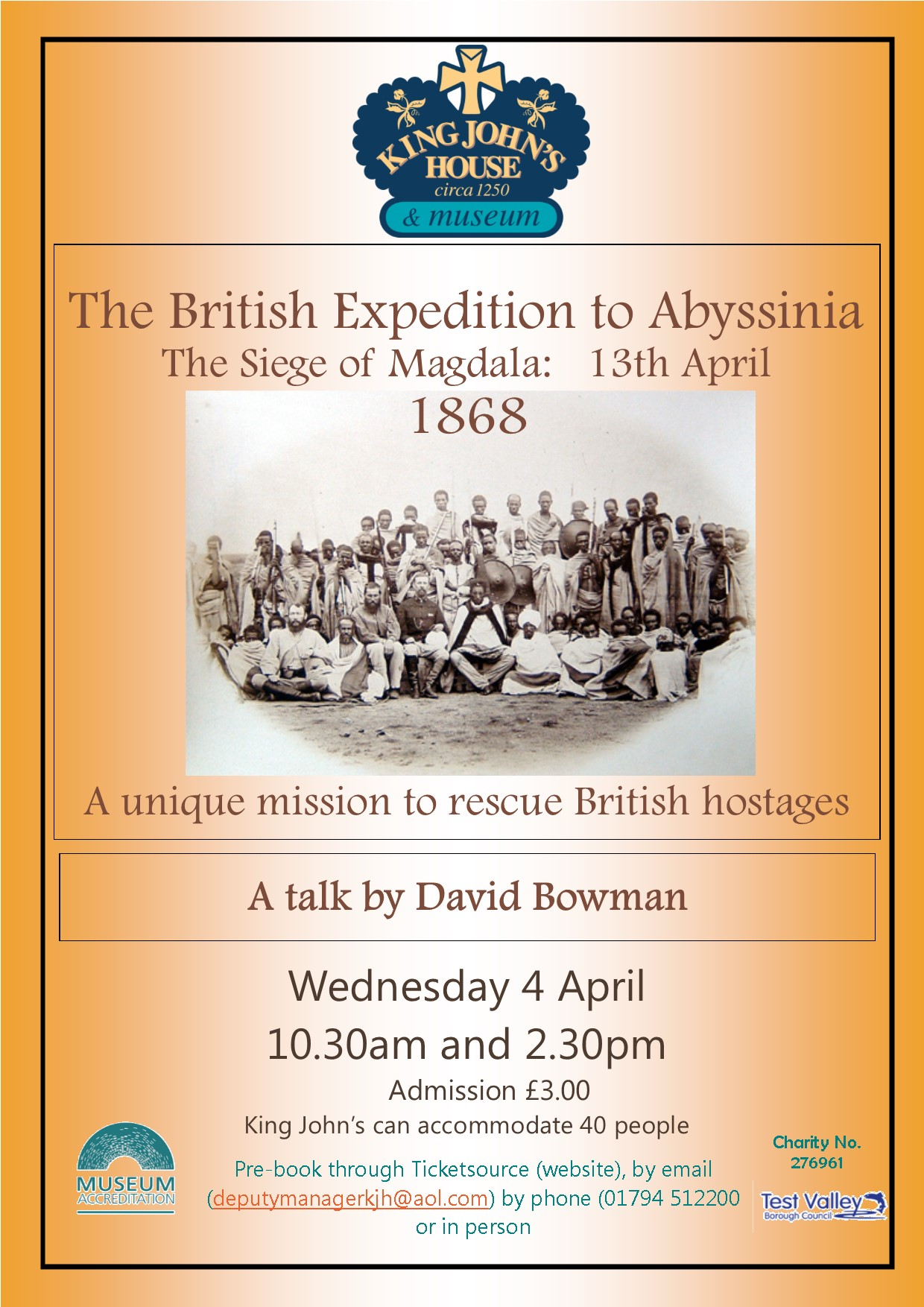The British Exhibition to Abyssinia –