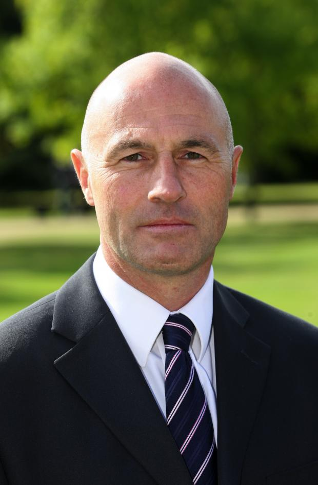 Detective Superintendent Alan Betts