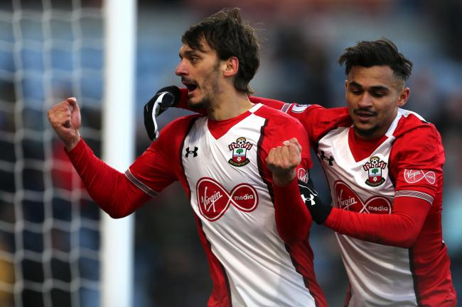 Gabbiadini wants to grow at Saints