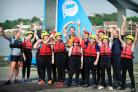 Pupils from Redbridge Community School at the ABP Sailing Academy