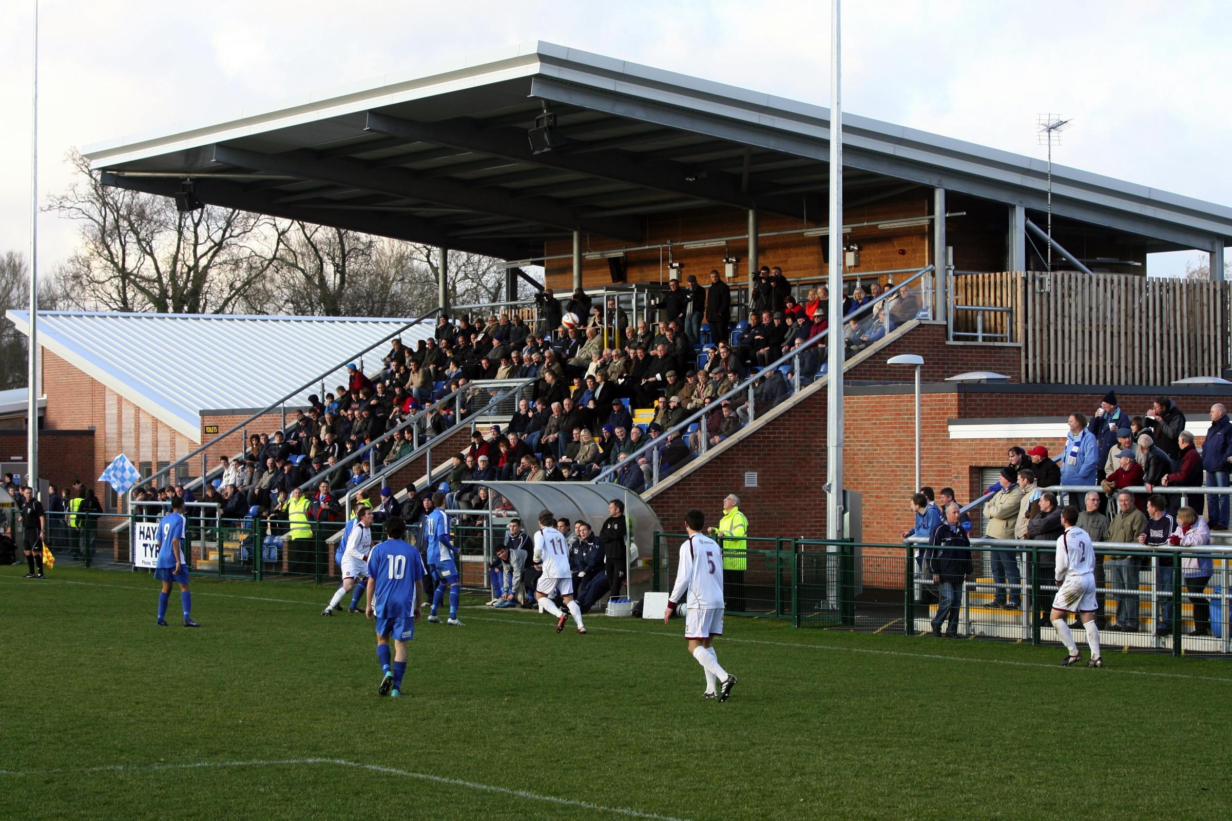AFC Totton's  Testwood Community Stadium