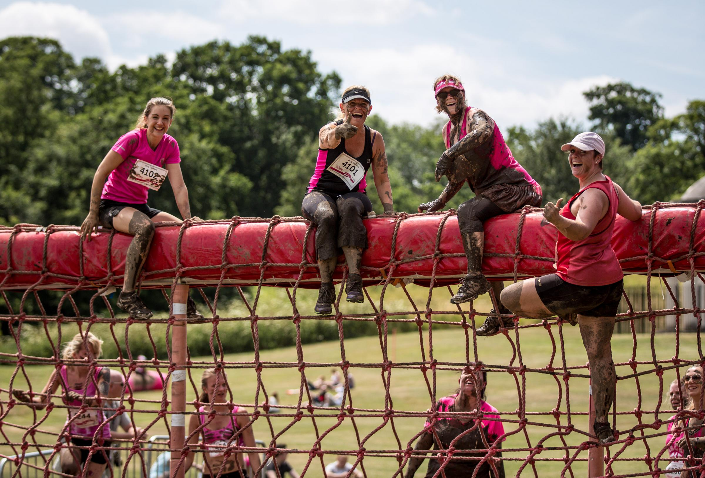 Basingstoke Race for Life and Pretty Muddy 2018
