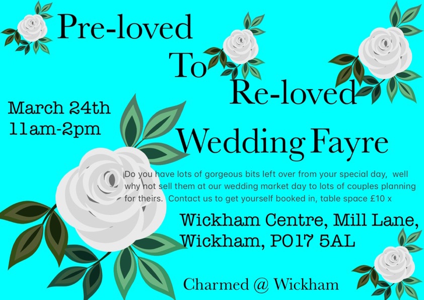 Pre-loved to Re-loved Wedding Market