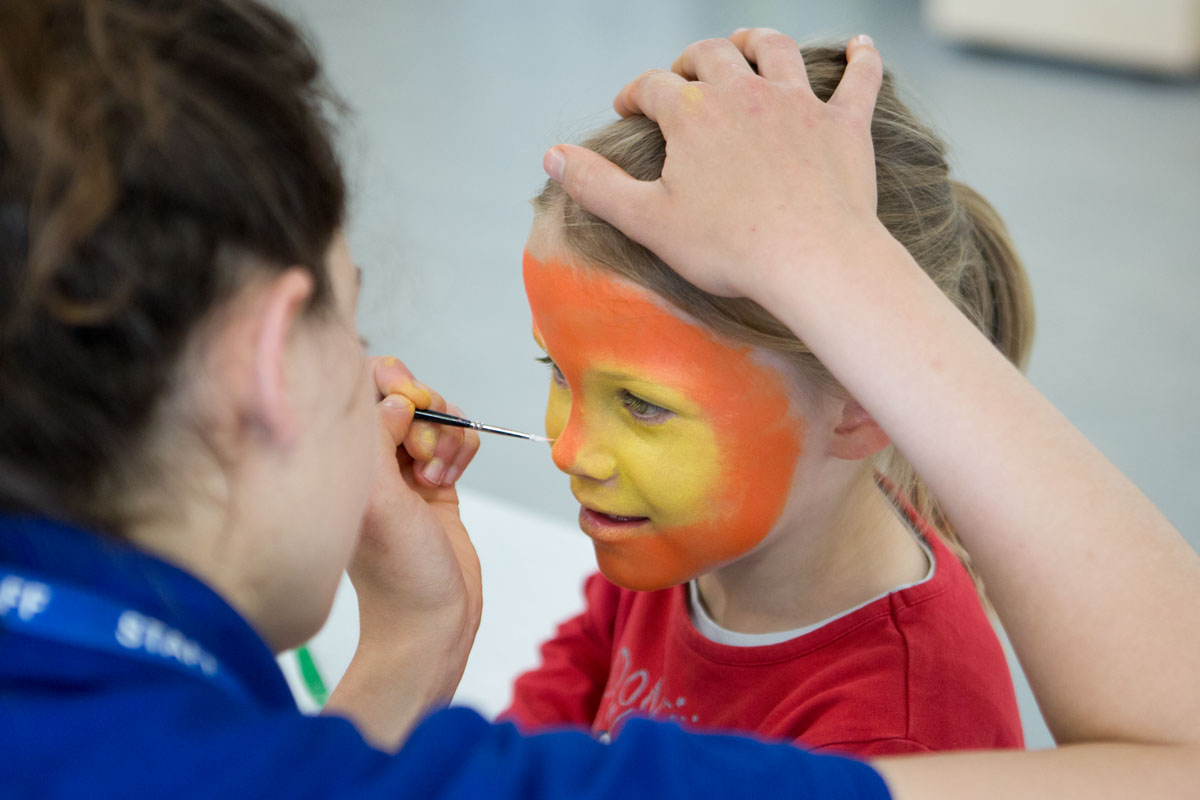 Free Facepainting workshop by FoSJP