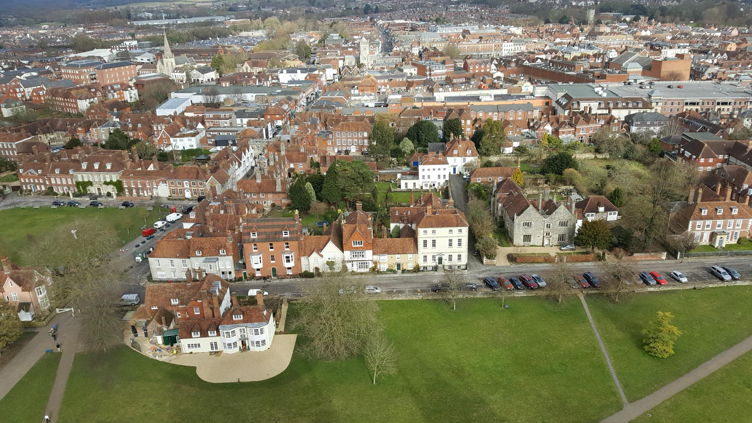 Salisbury Cathedral Close Walk