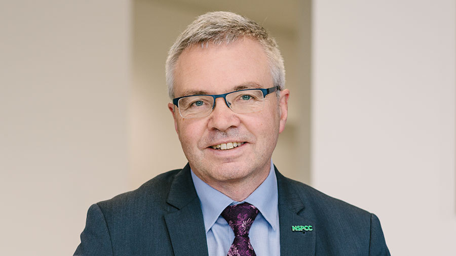 Peter Wanless Picture: NSPCC