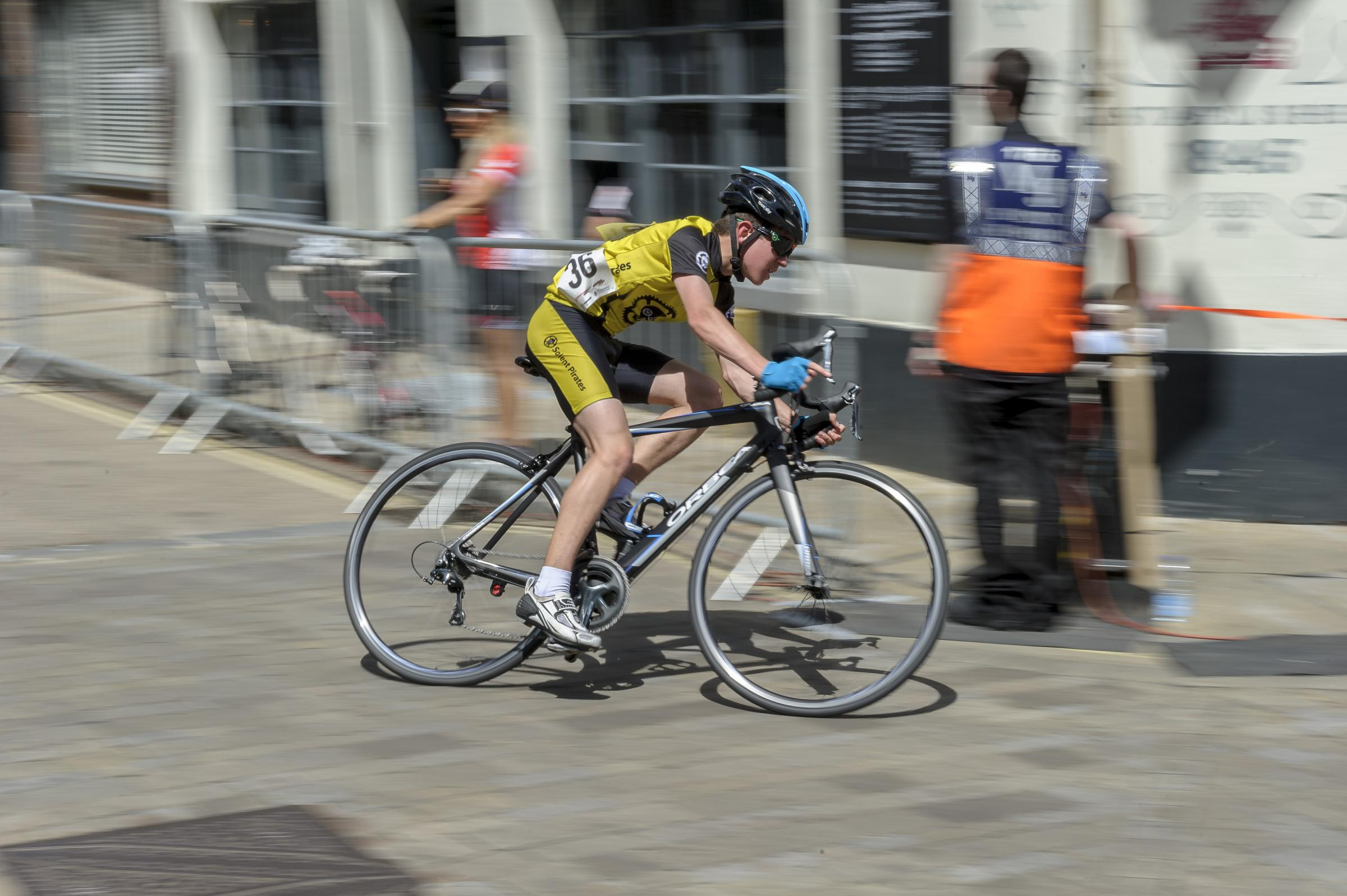 Criterium and Cyclefest in Winchester city centre.