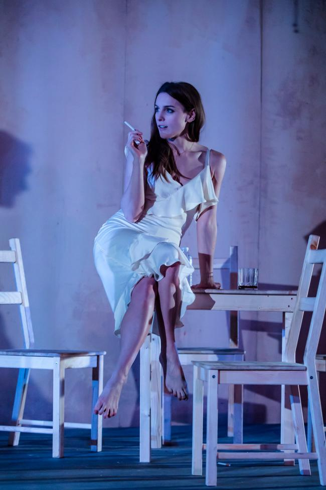 Kelly Gough in A Streetcar Named Desire at Nuffield Theatre