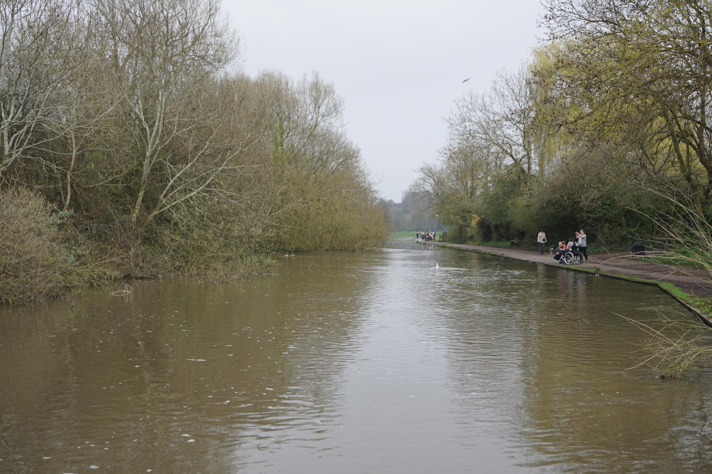 An investigation has been launched after reports of sewage in the River Itchen