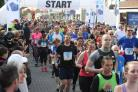 Photo Stuart Martin -  Southampton Marathon 2017  - Start of the Half Marathon.