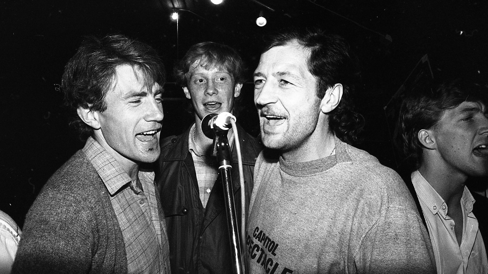 Nick Holmes, Mark Wright, Frank Worthington.