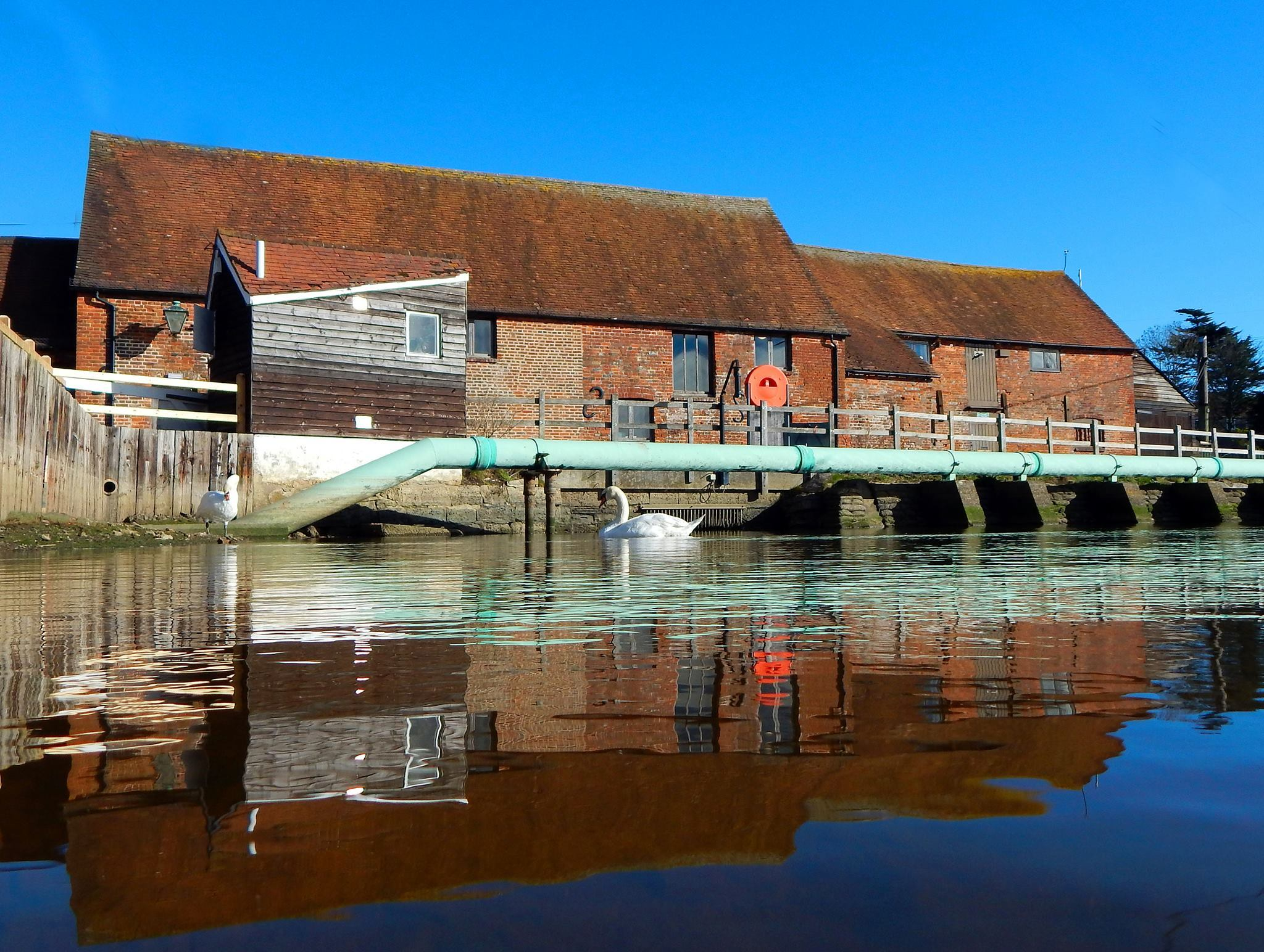Eling Tide Mill. Picture: Cathy Anning.