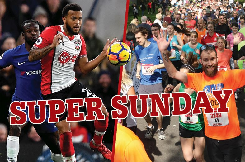Southampton prepares for 'Super Sunday' - Saints at Wembley, Southampton Marathon and warm weather