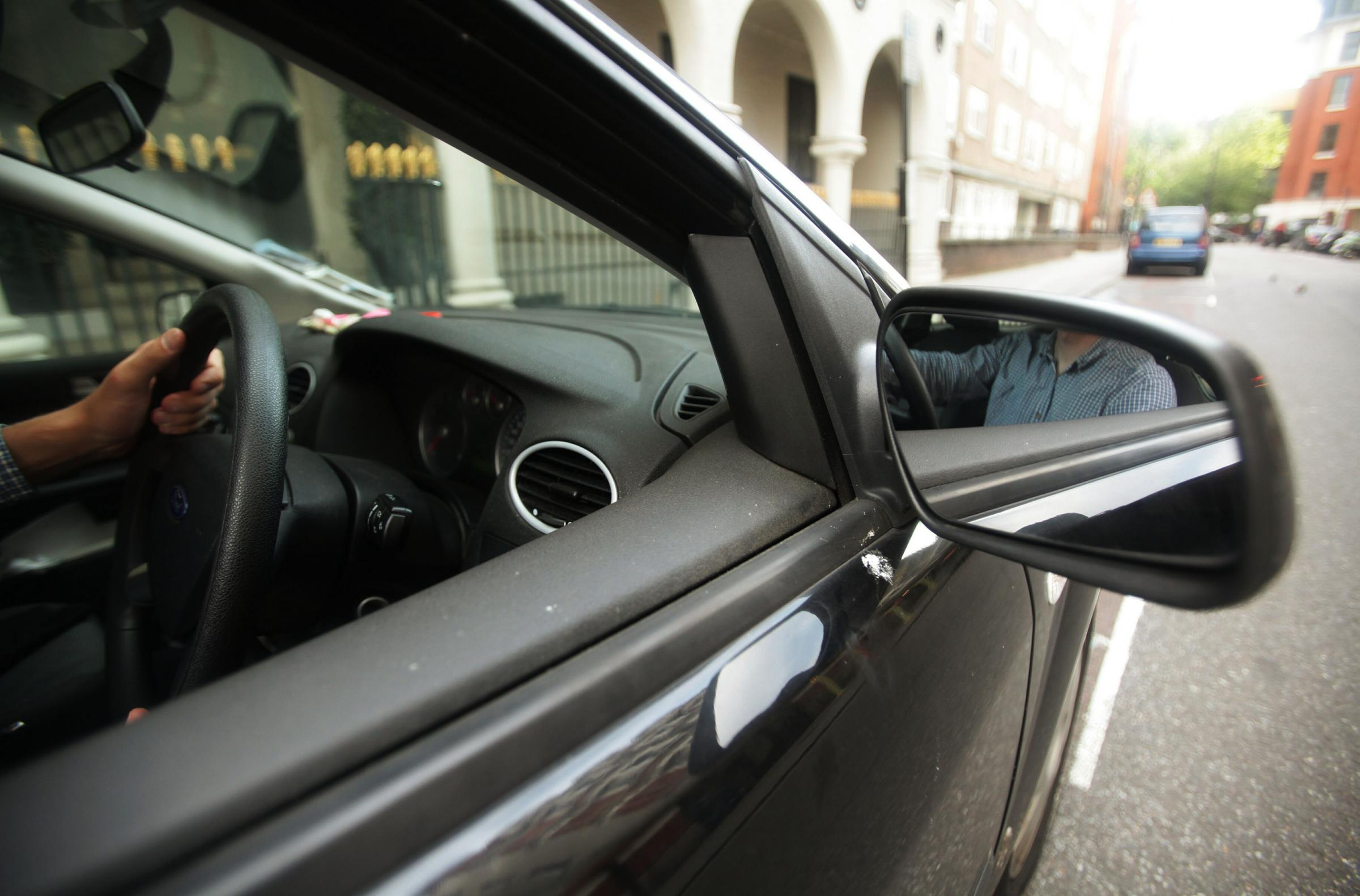 File photo dated 13/06/11 of a driver behind the wheel of a car. New data from the Local Government Association (LGA) shows that drivers in England spent more than one million years on the road in 2016. PRESS ASSOCIATION Photo. Issue date: Saturday April