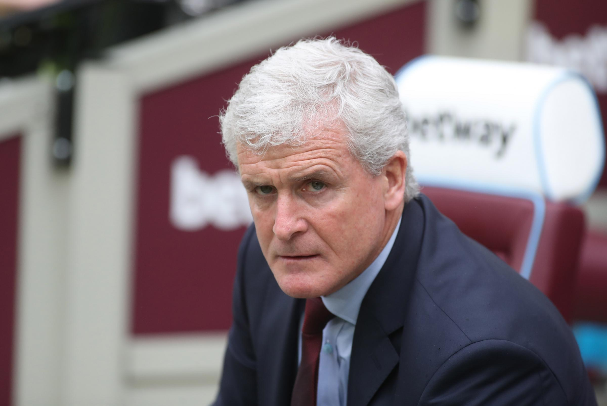 Photo Stuart Martin - West ham V Saints - Mark Hughes.