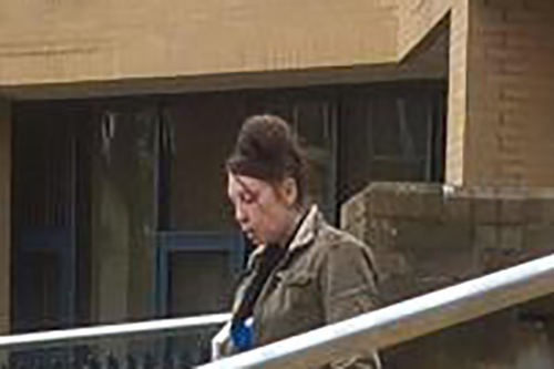 Tara Brown leaves Southampton Crown Court