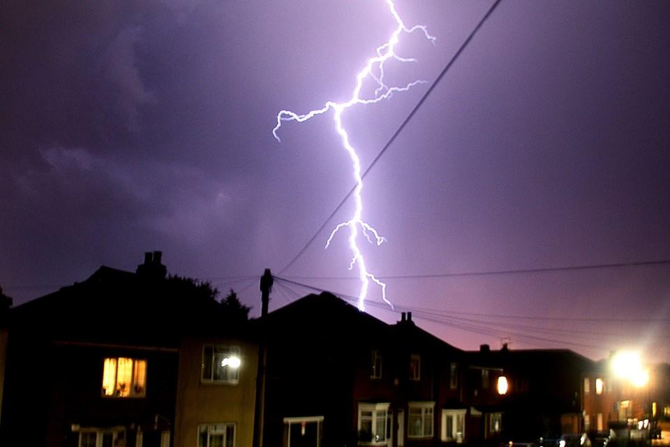 PHOTOS: Spectacular thunderstorm hits Southampton