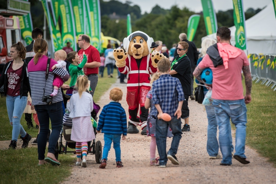 Hampshire and Isle of Wight Air Ambulance 10th birthday celebrations