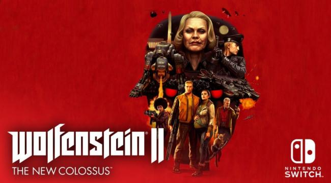 Wolfenstein II Switch release date announced with new gameplay trailer