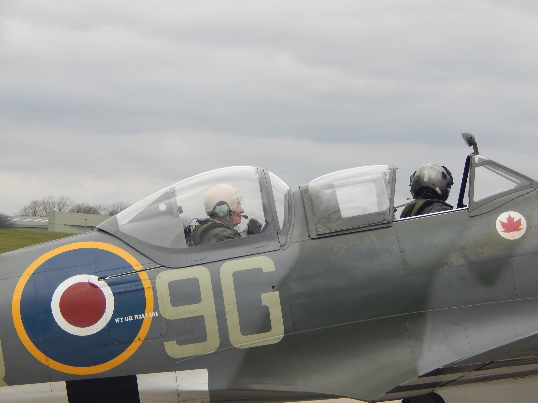 Southampton man, 94, finally gets trip of a lifetime in a Spitfire