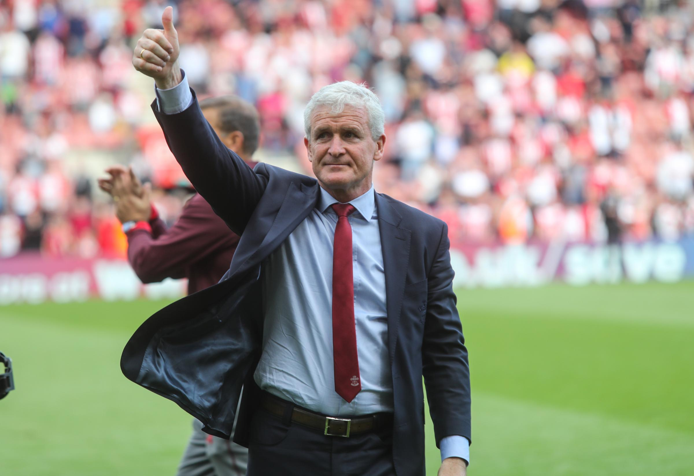 Hughes appointed Saints manager