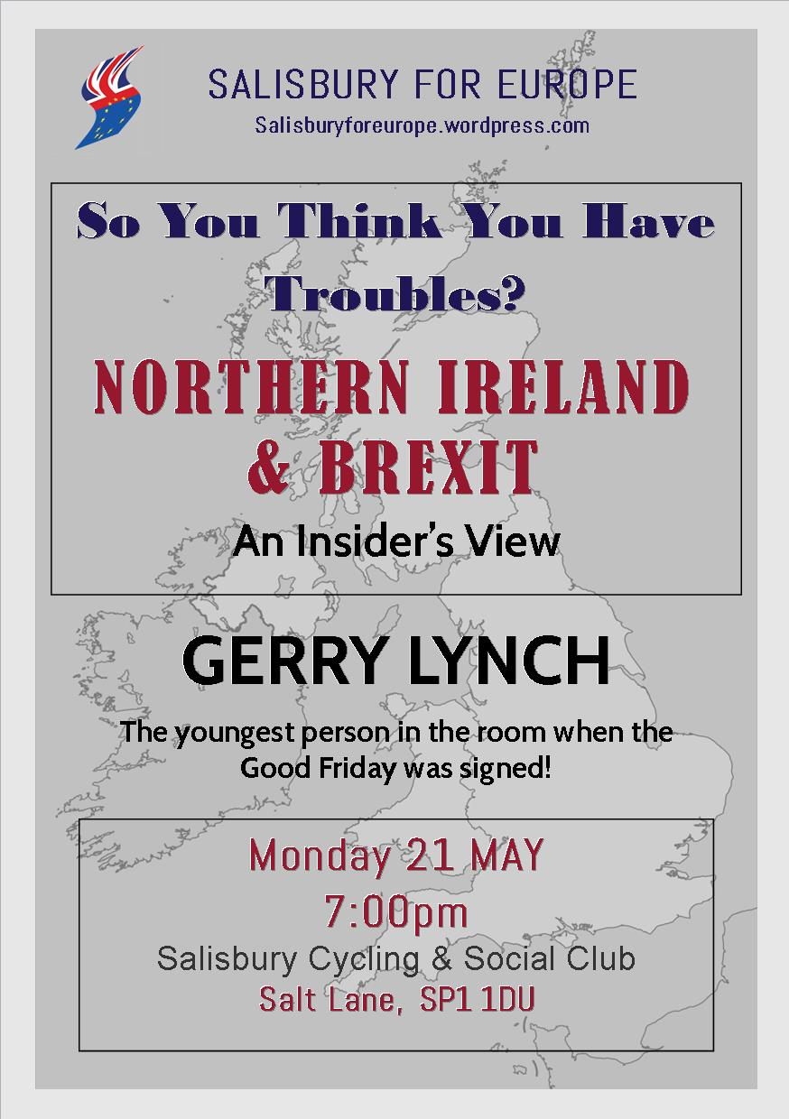 So You Think You Have Troubles? NORTHERN IRELAND  & BREXIT