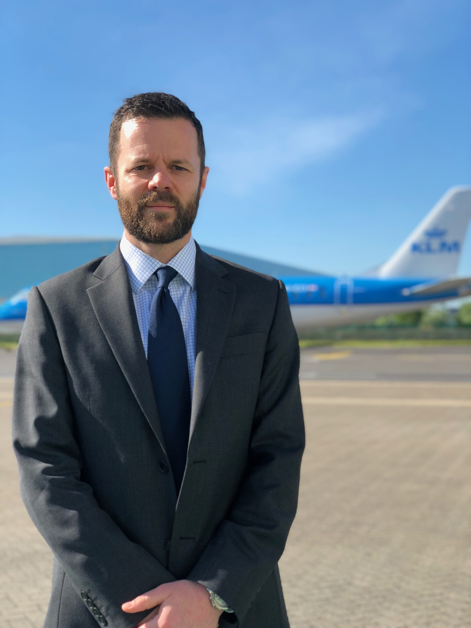 Neil Garwood, the new managing director of Southampton Airport.