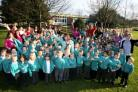 Fryern Infant School celebrate their Ofsted report