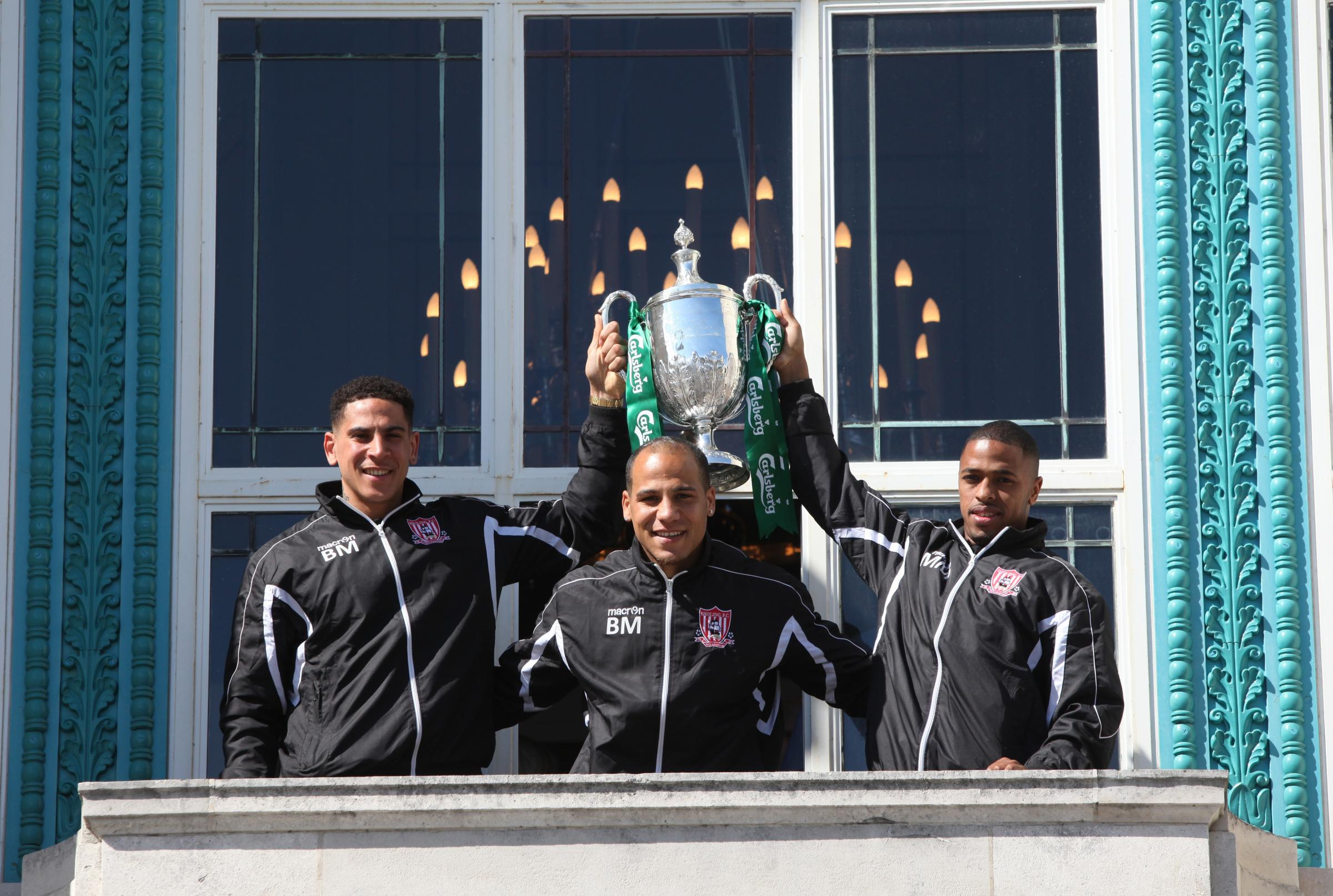 Sholing brought the FA Vase home to Hampshire in 2014