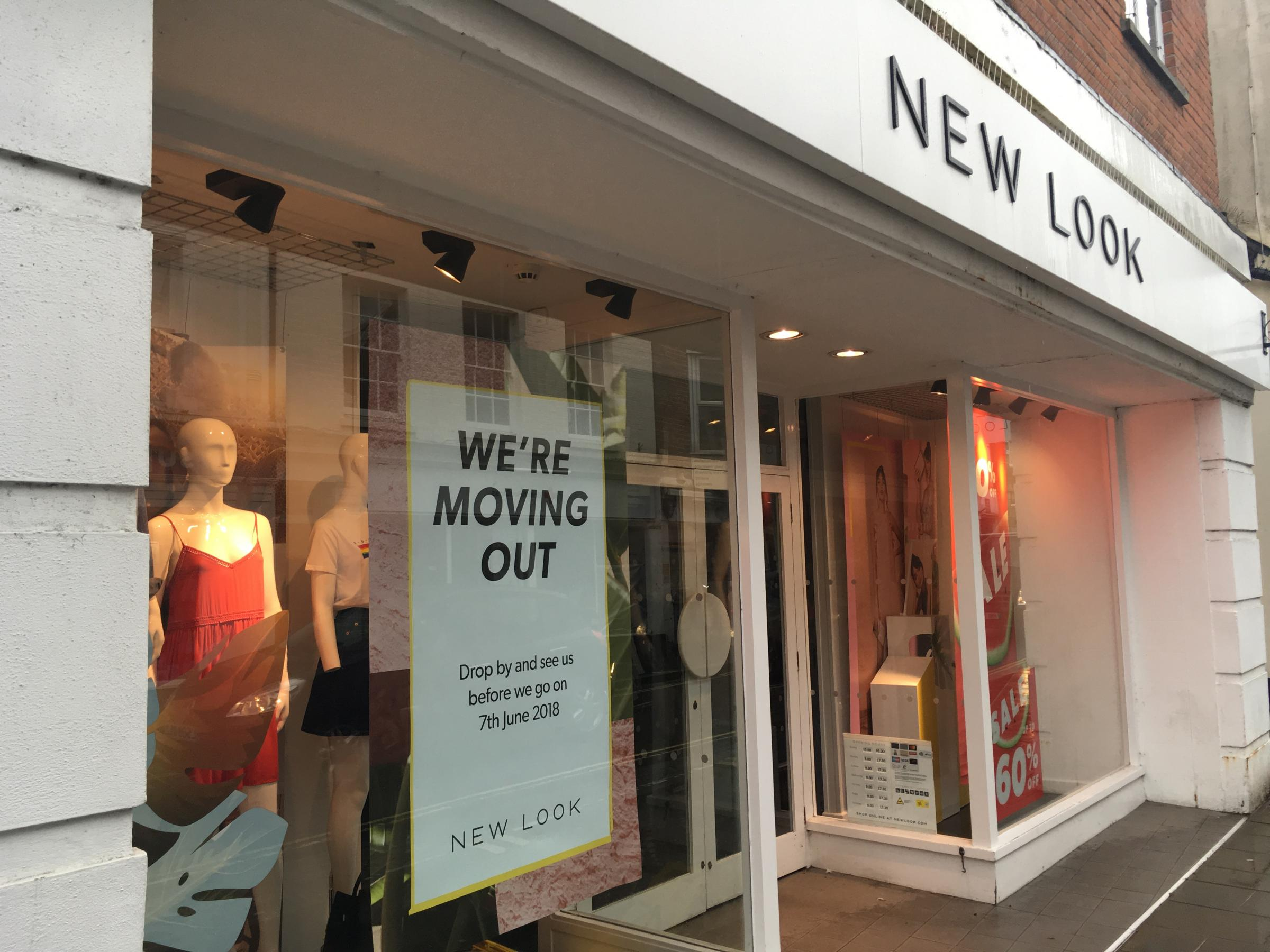 The New Look store in Romsey is to close.