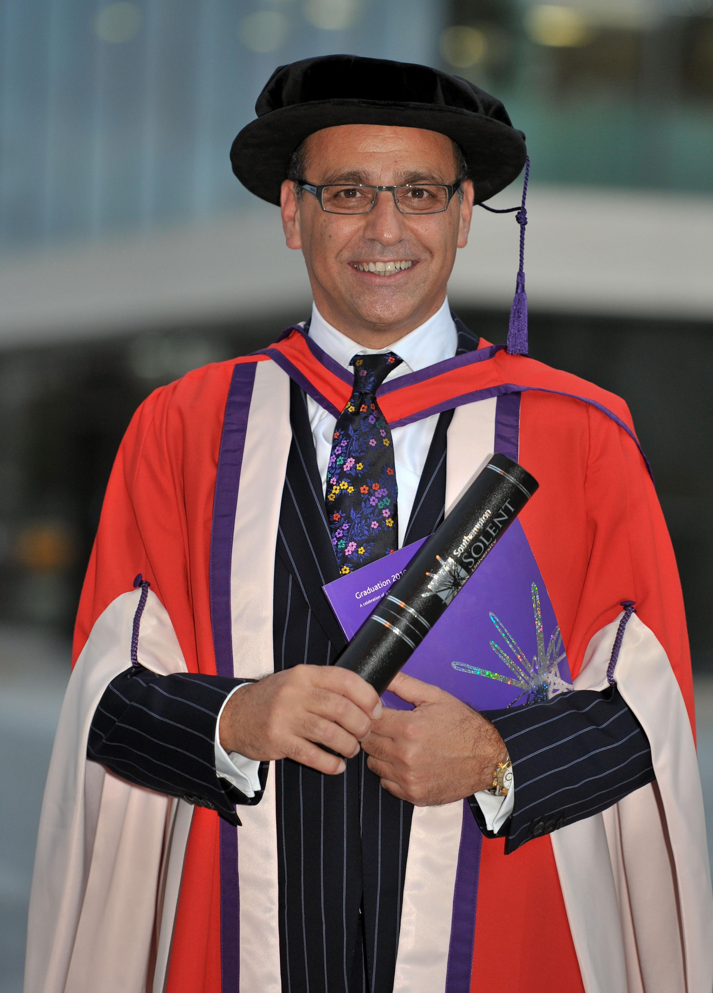 Entrepreneur and former Dragons' Den star Theo Paphitis has been named as the new chancellor of Solent University