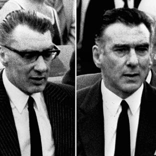 Daily Echo: The Kray twins Ronnie, left, and Reggie
