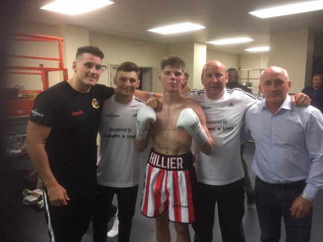Shane McGuigan, Josh Pritchard, Jack Hillier, Gary White and Barry McGuigan
