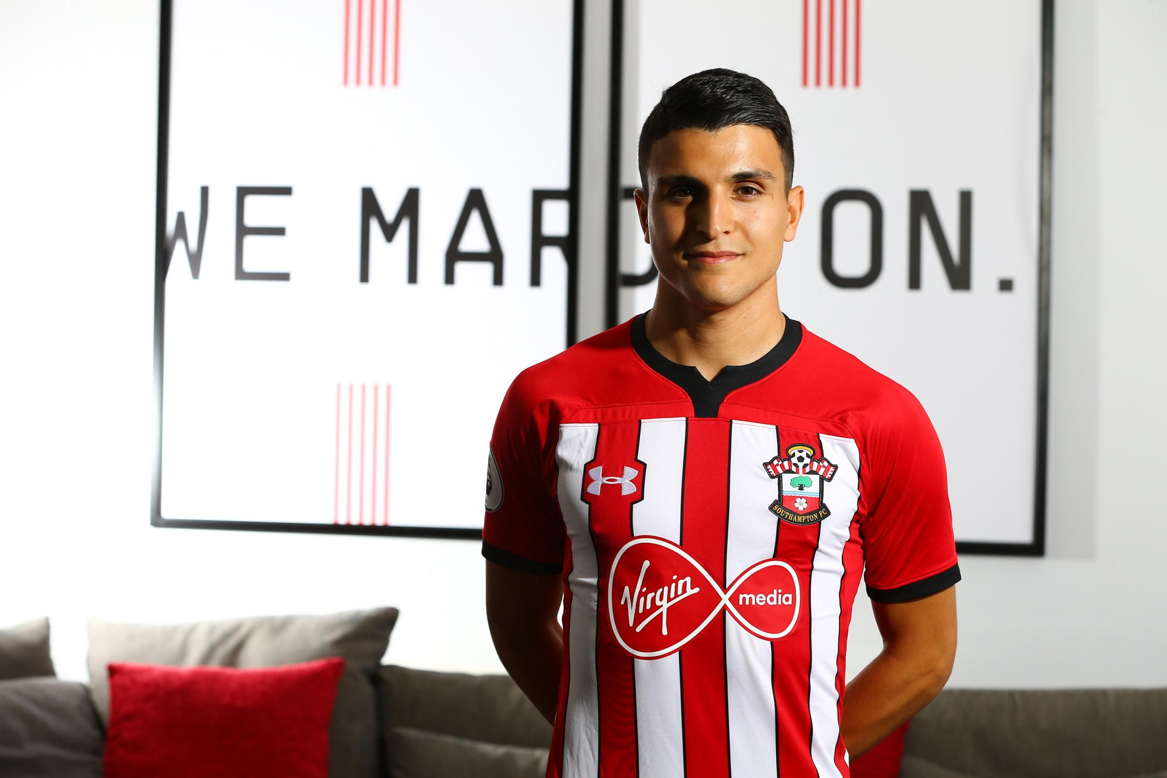 Mohamed Elyounoussi. Pic: Southampton FC
