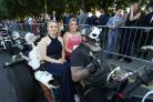 PHOTOS AND VIDEO: Masked bikers among guests at Kings' School prom