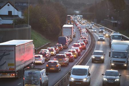 Crash on the A31 causing delays of up to 30 minutes