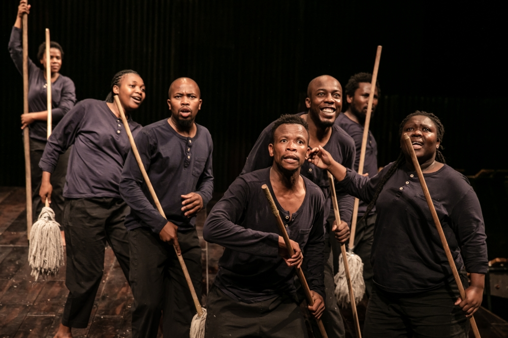 Isango Ensemble in SS Mendi at Nuffield Theatre